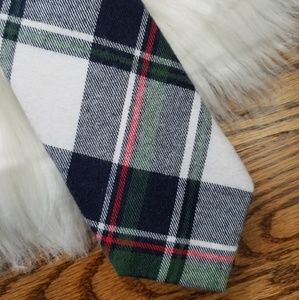NWT holiday Christmas plaid holiday navy blue red